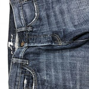"""7 for all mankind """"Boy Cut"""" jeans size 27"""